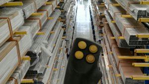Interno Bora System scaffali barre alluminio