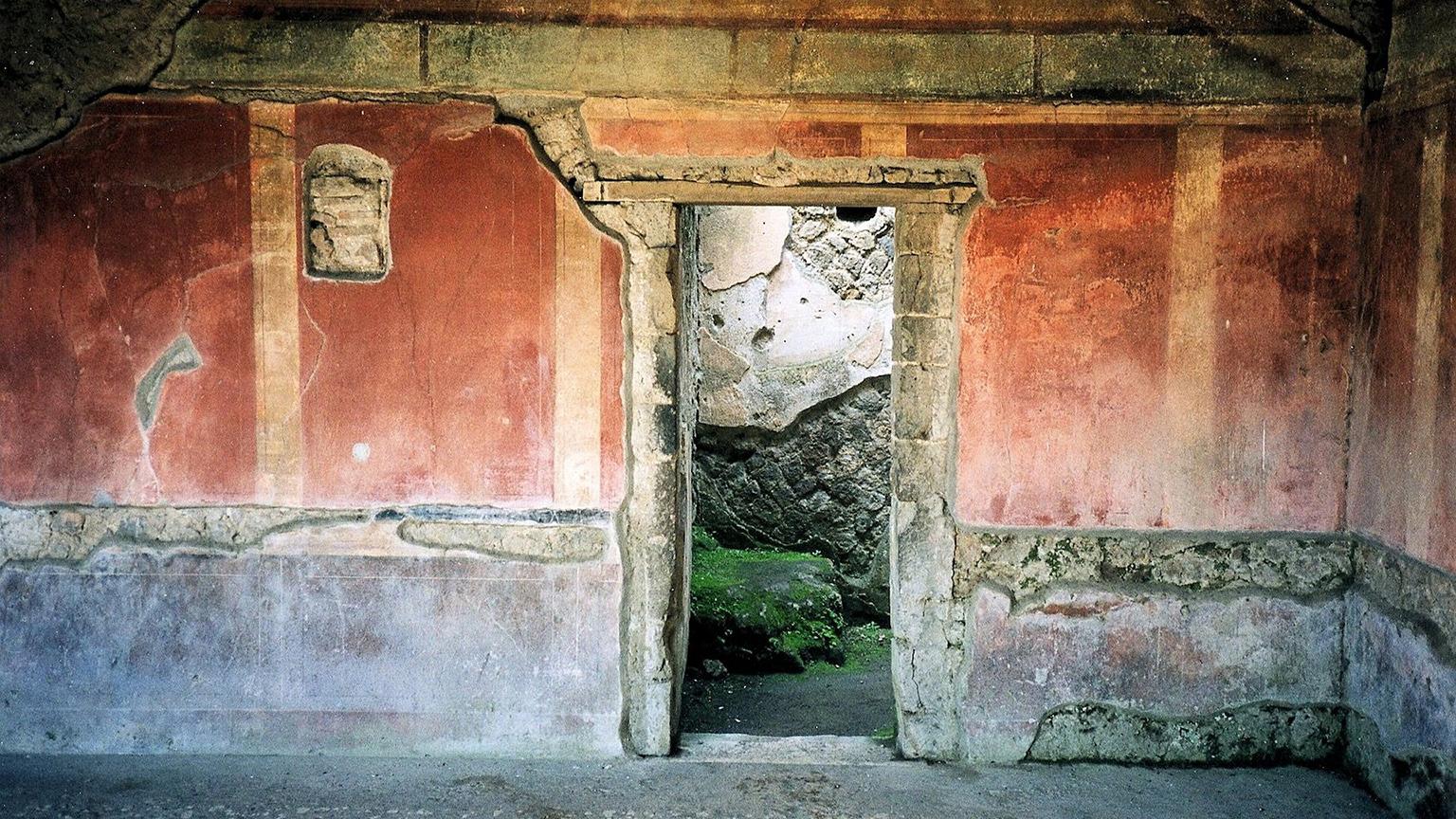 Interni edificio Pompei